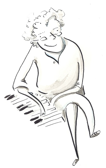 Yves au piano